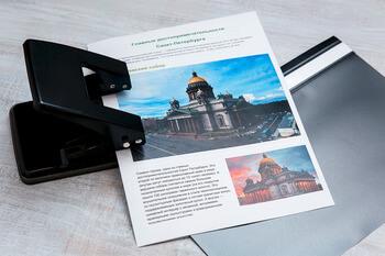 Цифровая печать на плотной бумаге