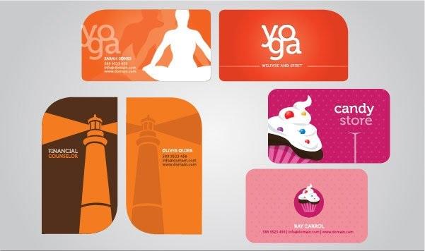 Креативный дизайн визиток