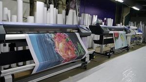 Широкоформатная печать производство